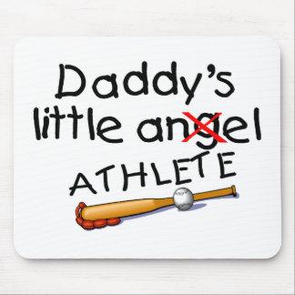 Pequeño atleta de Daddys Tapete De Ratón