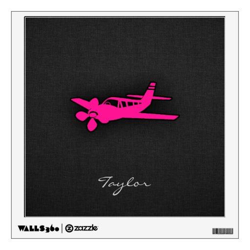 Pequeño avión de las rosas fuertes