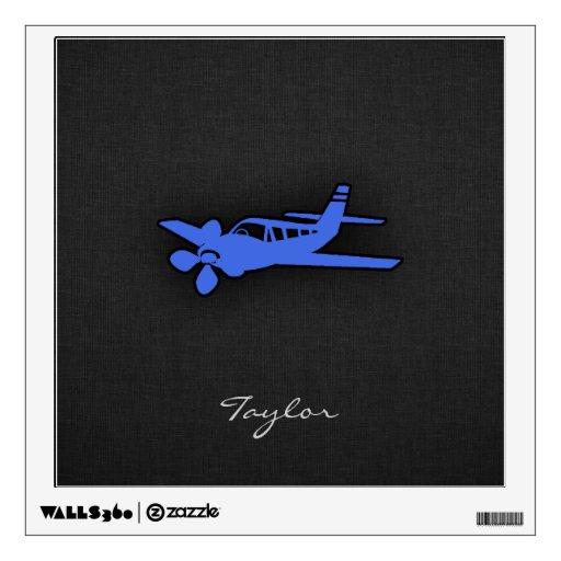 Pequeño avión del azul real