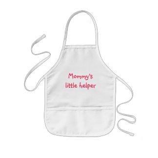 Pequeño ayudante de Mommys Delantal