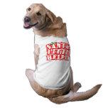 Pequeño ayudante de Santas Camisetas De Mascota