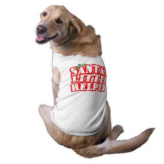 Pequeño ayudante de Santas Playera Sin Mangas Para Perro