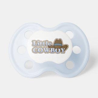 Pequeño azul del vaquero chupetes de bebé
