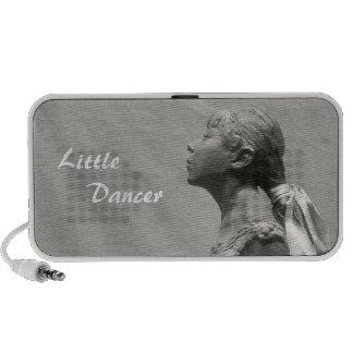 Pequeño bailarín, envejecido 14 laptop altavoz