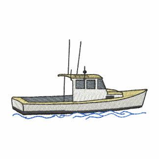 Pequeño barco de la langosta