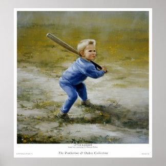Pequeño bateador posters