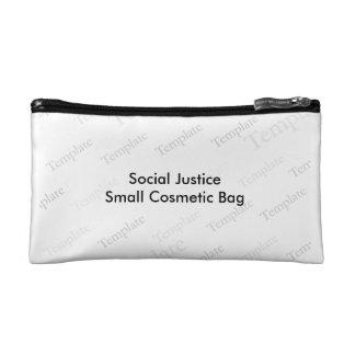 Pequeño bolso cosmético de la justicia social