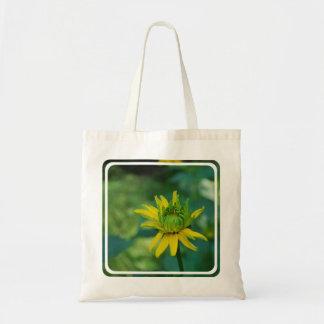 Pequeño bolso de florecimiento del girasol falso bolsas