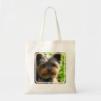 Pequeño bolso de la lona de Yorkshire Terrier Bolsas