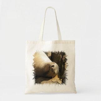 Pequeño bolso de reclinación del león marino bolsa