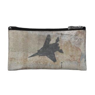 Pequeño bolso del avión de combate