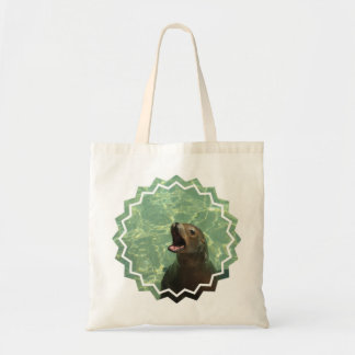 Pequeño bolso del león marino hablador bolsa