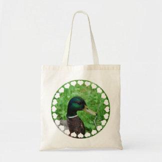 Pequeño bolso del pato silvestre bolsas de mano