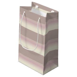 Pequeño bolso sombreado del regalo de las rayas bolsa de regalo pequeña
