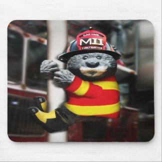 Pequeño bombero alfombrilla de ratón