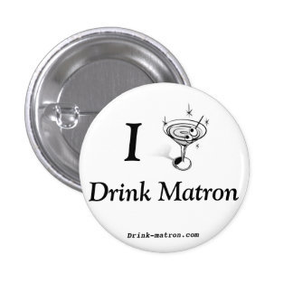 Pequeño botón de la matrona de la bebida pin