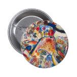 Pequeño botón de los placeres de Kandinsky Pins