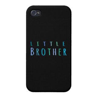 Pequeño Brother en azul iPhone 4 Coberturas