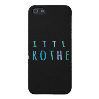 Pequeño Brother en azul iPhone 5 Cárcasa