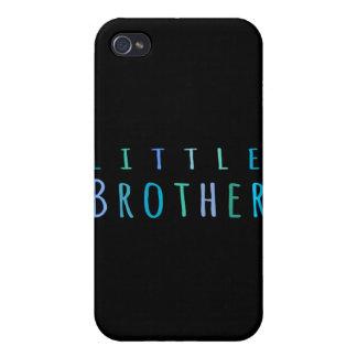 Pequeño Brother en azul iPhone 4 Carcasas