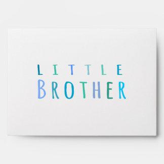 Pequeño Brother en azul Sobres