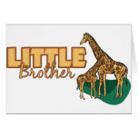 Pequeño Brother (jirafa) Felicitación