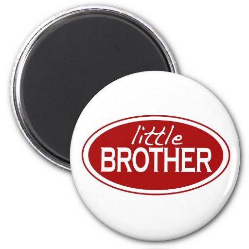 Pequeño Brother (oval) Iman Para Frigorífico