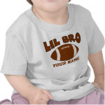 Pequeño Brother personalizó fútbol Camiseta