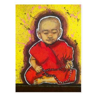 Pequeño Buda Tarjeta Postal