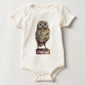 Pequeño búho body para bebé