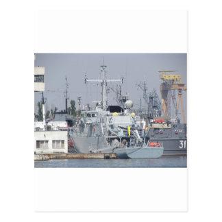 Pequeño buque de guerra postal