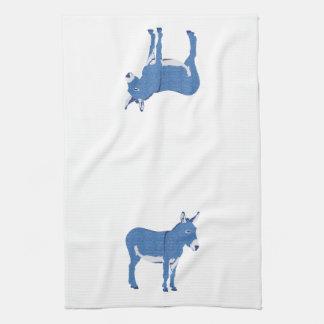 Pequeño burro de Eddie no realmente azul Toalla De Mano