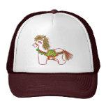 Pequeño caballo gorras