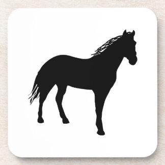 Pequeño caballo Silouette Posavaso