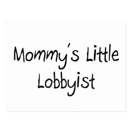 Pequeño cabildero de Mommys Postal