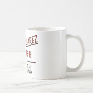 Pequeño café de Juarez Tazas De Café