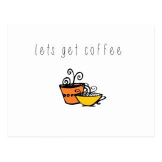 pequeño café de wobblies postal