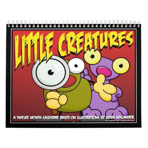 Pequeño calendario 2011 de las criaturas