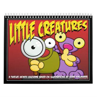 Pequeño calendario 2012 de las criaturas