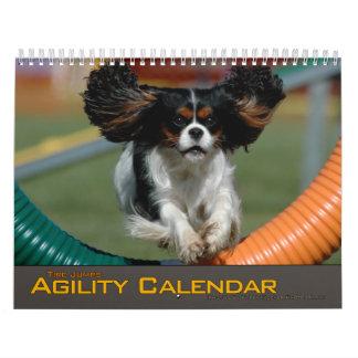 Pequeño calendario de la agilidad del salto del