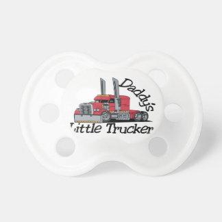 Pequeño camionero de Daddys Chupete