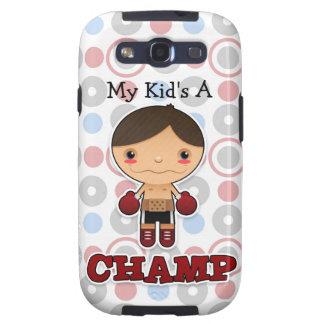 Pequeño campeón - galaxia S3 de Samsung - muchacho Galaxy S3 Fundas