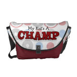 Pequeño campeón - la bolsa de mensajero - muchacho bolsa de mensajería