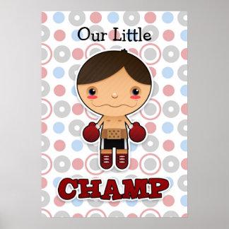 Pequeño campeón - poster - muchacho