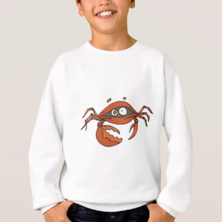 pequeño cangrejo asustado remeras