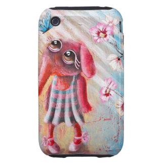 Pequeño caso del elefante iPhone3 Funda Though Para iPhone 3