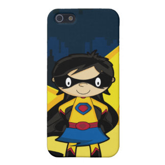Pequeño caso del iphone 4 del super héroe iPhone 5 funda