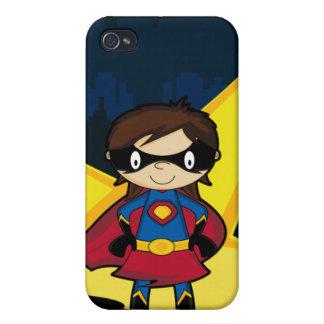 Pequeño caso del iphone 4 del super héroe iPhone 4/4S fundas