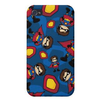 Pequeño caso del iphone 4 del super héroe iPhone 4/4S carcasa