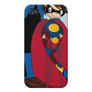 Pequeño caso del iphone 4 del super héroe iPhone 4 cárcasas
